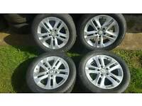 16inch 5x112 genuine Mercedes alloys rims wheels fit vw passat sharan caddy van audi a4 a6
