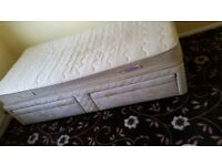 Single bed and mattress - FREE !!