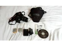 Canon EOS 450D/Rebel XSi digital SLR kit with 18-55mm lens, case and accessories