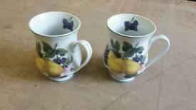 Two Pear Mugs