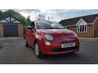 2014 Fiat 500 in Red - Stop/Start - 12 Months MOT - Just Serviced - Cheap tax