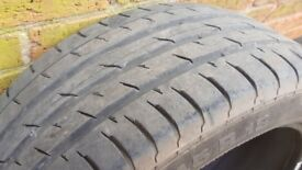 2 x Continental Tyres 245/45 R18
