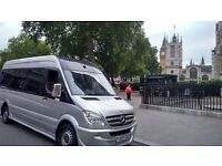 Manchester Minibus Hire With Driver call 07507565779 We do 10 14 15 16 17 seats Manchester Airport