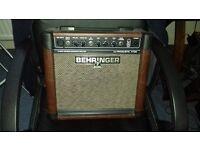 Behringer 15 Watt Acoustic Amp.