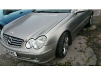 MERCEDES CLK 270 CDI COUPE SPORT, FULL LEATHER, BRAND NEW 1 YEAR MOT,BRILLIANT RUNNER, NEGOTIABLE,PX