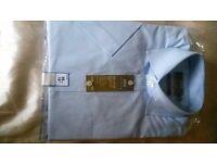 "Brand New Mens M & S shirt size 15"" Short sleve"