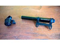 Mini Bicycle Pump and Bell for sale