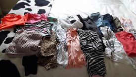 Bundle of girls clothes age 8-10 years
