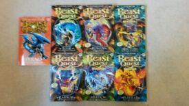 7 Beast Quest books by Adam Blade
