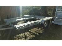 14 X 6 3 car transporter trailer factory made stamped
