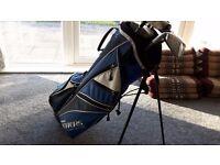 Full golf set (Wilson, LYNX, RAM Evolution)