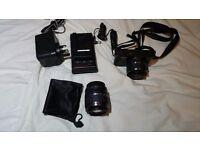 Nikon1 J1 Digital Camera, Double Zoom + Lens Kit: