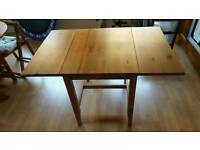 Ikea foldable table. Very good condition.