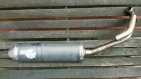 Carbonfiber exhurst pipe gillera