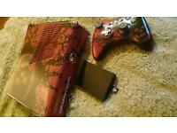 Limited edition gears of war xbox 360 slim 320 gb