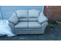I HAVE 2 ITALIAN SOFA MODELS IN 3+2 IN BONDED LEATHER BRAND NEW PACKED CLEARANCE STOCK £549 A SET