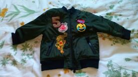 Next boys bomber jacket - 6 to 9 months