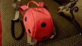 Littlelife ladybird rucksack