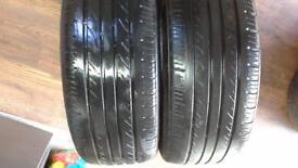 2 x tyres 205 55 16