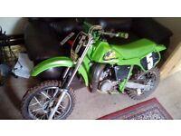 KAWASAKI KX65 moto x