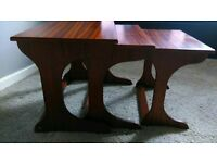 Retro 1960,s Nest of tables