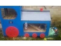 Train 2 storey rabbit or guinea pig hutch
