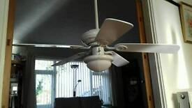 3 speed fan & light.