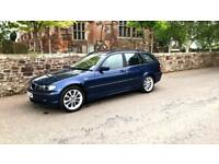 BMW 320 SE DIESEL ESTATE 2003/53 ONE YEARS MOT. 119000 Miles