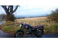 Cafe Racer 125cc Lexmoto Valiant Learner Legal Suzuki GS 125 Motorbike Motorcycle Mutt Herald Mash