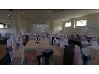 wedding services, lycra chair covers, sashes & table cloths
