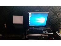 Hp computer windows 10 pro with printer scanner photocopier in one 80 pound vgc