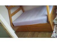 Joseph Maple triple bunk bed excellent condition