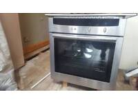 Neff integrated oven and hob