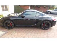Porsche Cayman S Black 2008 NOW REDUCED FOR QUICK SALE