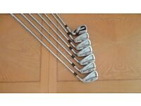 Progen 4 to 9 Irons and Dunlop Pitching Wedge