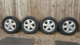 Alloy wheels with tyres RENAULT TRAFIC from 2014 year