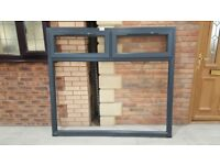 6 New Upvc Anthracite miss measured windows for sale from £27 + VAT - Free local delivery