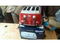 Dr longhi 4 slice toaster in box perfect condition 80 pounds in shops 35 pounds
