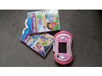 vtech mobigo 2 with 3 games