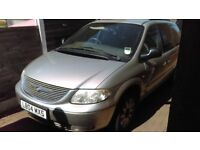 Chrysler 2.5CRD Grand Voyager 7 Seater Beige