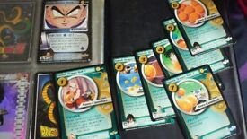Book Dragon Ball Z collectors cards 69 in total