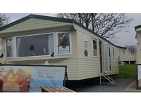 Static caravan for sale devon bay pet friendly site. site fees included 11 month season. sea views