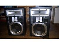 Jamo SX300 3 way 300w speakers. Spares or repair.