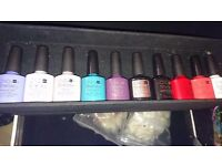 Cnd shellac gel polish ten bottles