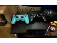 Ps3 slim 160gig with games