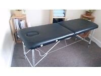 Ultra light Treatment / Massage table for sale - £50