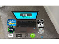 HP PROBOOK LAPTOP (CORE i5, HD+, 6GB, 500GB 7.2K)