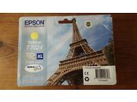 Epson T7024 Ink Cartridge. High Capacity Yellow