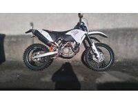 ktm 450 exc 2008 registered 57 plate enduro bike