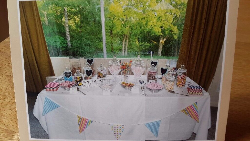 Fancy Glass Vases, Bowls, Jars for DIY Wedding Sweets